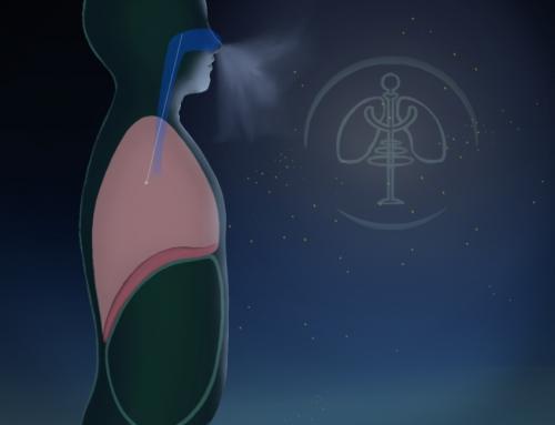 Explication de la biomécanique dans une image animée de point de vue de la psychologie Respiratoire- Carlos Velasco, Psychologue.