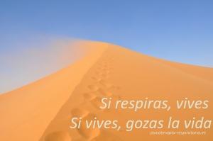 desierto si respiras, vives