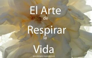 el arte de respirar la vida flor blanca